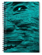 Gentle Giant In Turquois Spiral Notebook