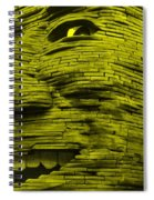 Gentle Giant In Yellow Spiral Notebook