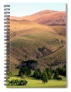 Gentle Rolling Hills Spiral Notebook