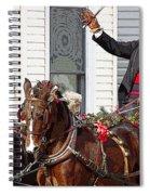 Gentleman Driver Spiral Notebook