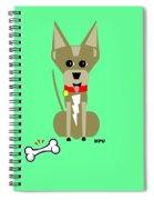 Geo Chihuahua Spiral Notebook