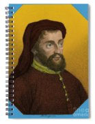 Geoffrey Chaucer, Father Of English Spiral Notebook