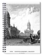 Geography: Berlin Spiral Notebook