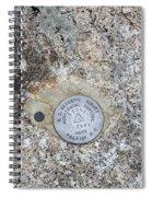 Geological Marker Spiral Notebook