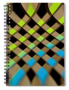 Geometrical Colors And Shapes 1 Spiral Notebook