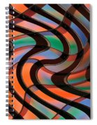 Geometrical Colors And Shapes 2 Spiral Notebook