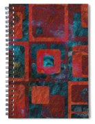 Geomix 02 - Sp07c03b Spiral Notebook