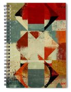 Geomix 04 - 39c3at227a Spiral Notebook
