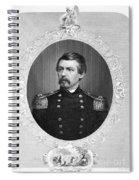 George Brinton Mcclellan Spiral Notebook