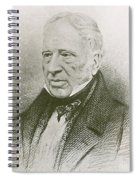 George Cayley, English Aviation Engineer Spiral Notebook