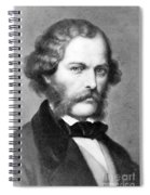 George Henry Lewes, English Philosopher Spiral Notebook
