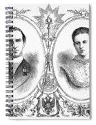 George I (1845-1913) Spiral Notebook