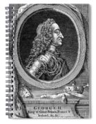 George II (1683-1760) Spiral Notebook