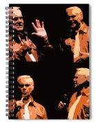 George Jones Concert Collage Spiral Notebook