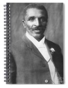 George W. Carver, African-american Spiral Notebook
