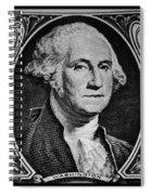 George Washington In White Spiral Notebook