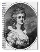 Georgiana Shipley (1752-1806) Spiral Notebook