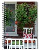 Geranium Good Times 2 Spiral Notebook