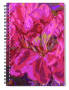 Geranium Pop Spiral Notebook