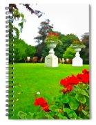 Geraniums  Spiral Notebook