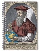 Gerardus Mercator, Flemish Cartographer Spiral Notebook