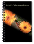 Gerber Daisy Unveiled Spiral Notebook