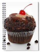 German Chocolate Cupcake Spiral Notebook