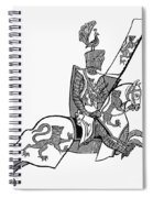 German Knight Spiral Notebook