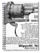 German Revolver, 1880 Spiral Notebook