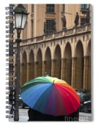 German Umbrella Spiral Notebook