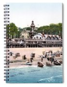 Germany: Casino, C1895 Spiral Notebook