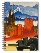 Germany Spiral Notebook