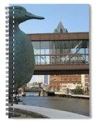Gertie The Duck Spiral Notebook