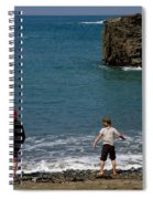 Get Your Feet Wet Spiral Notebook