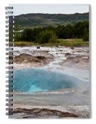 Geysir Eruption Sequence Spiral Notebook