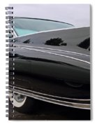 Ghost Cadillac Spiral Notebook