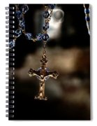 Ghost Of A Rosary Spiral Notebook