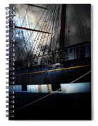 Ghost Ship Of The San Francisco Bay . 7d14153 Spiral Notebook