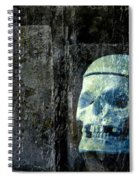 Ghost Skull Spiral Notebook