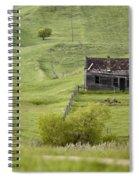 Ghost Town Galilee Saskatchewan Spiral Notebook
