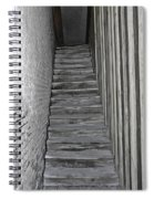 Ghost Town Stairs Bodie California Spiral Notebook