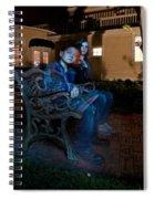 Ghostly Cousins Spiral Notebook