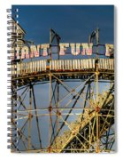Giant Fun Fair Spiral Notebook