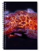 Giant Pacific Octopus Spiral Notebook