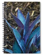 Giant Purple Wandering Jew 2 Spiral Notebook