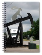 Giant Rabbit Spiral Notebook
