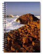 Giants Causeway, County Antrim, Ireland Spiral Notebook