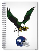 Giants Suck Spiral Notebook