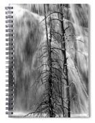 Gibbons Falls In Yellowstone National Park Spiral Notebook