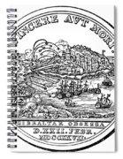 Gibraltar: Medal, 1727 Spiral Notebook